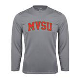 State Syntrel Performance Steel Longsleeve Shirt-Arched MVSU