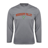 State Performance Steel Longsleeve Shirt-Arched Mississippi Valley