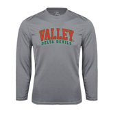 State Syntrel Performance Steel Longsleeve Shirt-Arched Valley Delta Devils