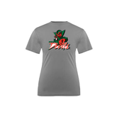 State Youth Performance Grey Concrete Tee-Devils
