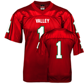 State Replica Red Adult Football Jersey-#1