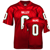 State Replica Red Adult Football Jersey-personalized