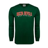 State Dark Green Long Sleeve T Shirt-Softball