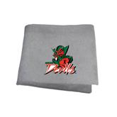 State Grey Sweatshirt Blanket-Devils