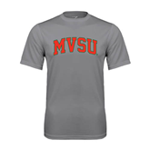 State Performance Grey Concrete Tee-Arched MVSU