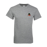 State Grey T Shirt-Devils