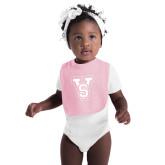State Light Pink Baby Bib-VS