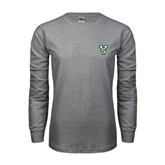 State Grey Long Sleeve TShirt-VS