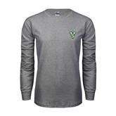 State Grey Long Sleeve TShirt-VS