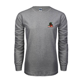 State Grey Long Sleeve TShirt-Devils
