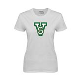 State Ladies White T Shirt-VS
