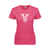 State Ladies Fuchsia T Shirt-VS