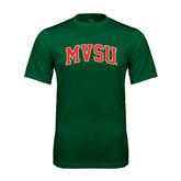 State Performance Dark Green Tee-Arched MVSU