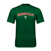 State Performance Dark Green Tee-Arched Mississippi Valley