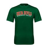 State Performance Dark Green Tee-Arched Delta Devils