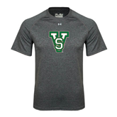 State Under Armour Carbon Heather Tech Tee-VS