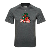 State Under Armour Carbon Heather Tech Tee-Devils