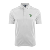 State White Dry Mesh Polo-VS