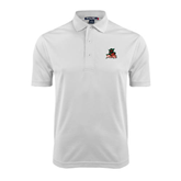 State White Dry Mesh Polo-Devils