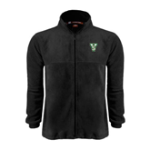 State Fleece Full Zip Black Jacket-VS