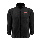 State Fleece Full Zip Black Jacket-Arched MVSU