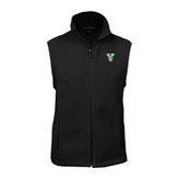 State Fleece Full Zip Black Vest-VS