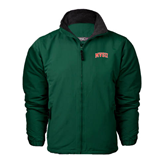 State Dark Green Survivor Jacket-Arched MVSU