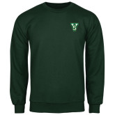 State Dark Green Fleece Crew-VS