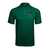 State Dark Green Pique Polo-Devils