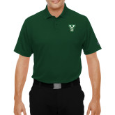 State Under Armour Dark Green Performance Polo-VS
