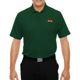 State Under Armour Dark Green Performance Polo-Devils