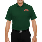 State Under Armour Dark Green Performance Polo-Arched MVSU