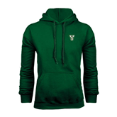 State Dark Green Fleece Hood-VS