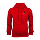 State Red Fleece Hoodie-Devils