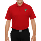 State Under Armour Red Performance Polo-VS