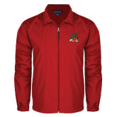 State Full Zip Red Wind Jacket-Devils