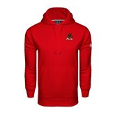 State Under Armour Red Performance Sweats Team Hoodie-Devils