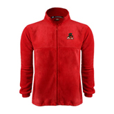 State Fleece Full Zip Red Jacket-Devils