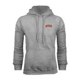 State Grey Fleece Hoodie-Arched MVSU