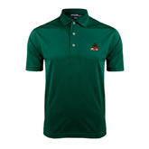 State Dark Green Dry Mesh Polo-Devils