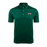 State Dark Green Dry Mesh Polo-Arched MVSU