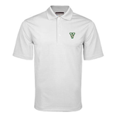 State White Mini Stripe Polo-VS