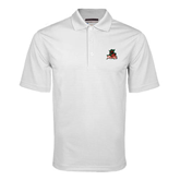 State White Mini Stripe Polo-Devils