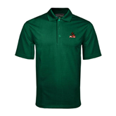 State Dark Green Mini Stripe Polo-Devils