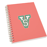 State Clear 7 x 10 Spiral Journal Notebook-VS