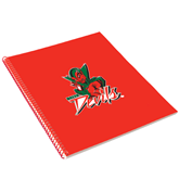 State College Spiral Notebook w/Red Coil-Devils