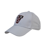 State White Heavyweight Twill Pro Style Hat-VS