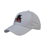 State White Heavyweight Twill Pro Style Hat-Devils
