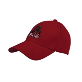 State Red Heavyweight Twill Pro Style Hat-Devils