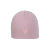 State Pink Knit Beanie-VS